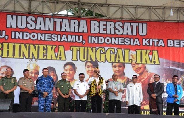 Apel Bersama Nusantara Bersatu Berlangsung Meriah di Balikpapan