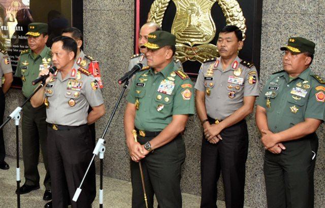 TNI – Polri Siap Ciptakan Rasa Aman dan Lindungi Masyarakat