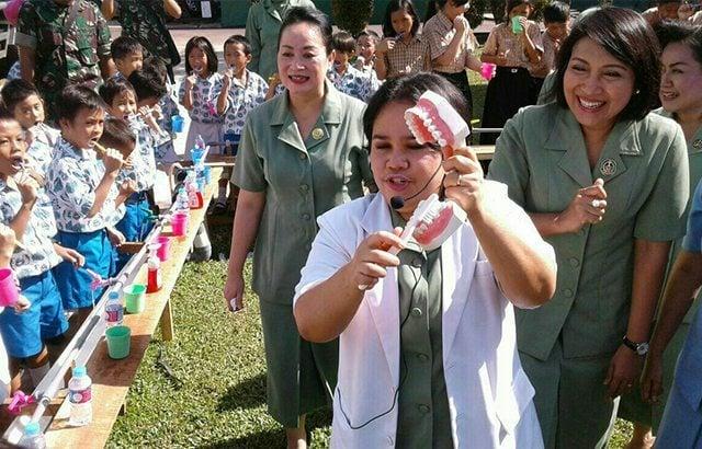 "Persit KCK PD XII/Tpr Dan Dharma Pertiwi Daerah L Gelar Bhakti Sosial ""Sehat Bersama"""