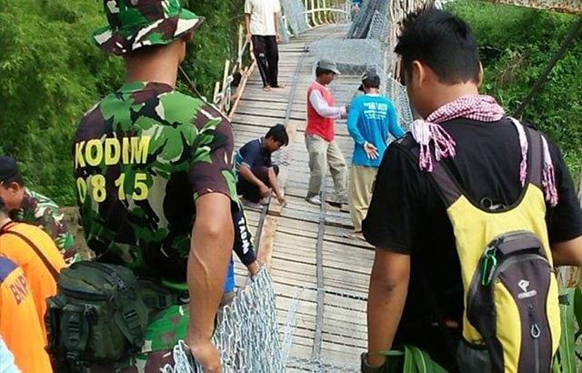 Wujud Kemanunggalan TNI – Rakyat, Kodim 0815/Mojokerto Gelar Karya Bhakti