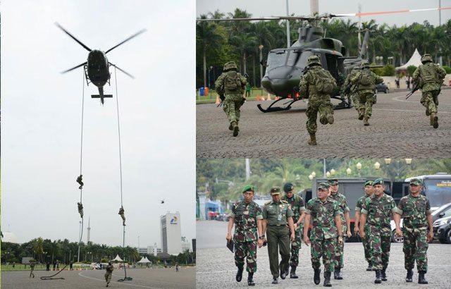 3.—Latihan-Pasroping-Yonif-Para-Raider-328-Kostrad-di-Monas