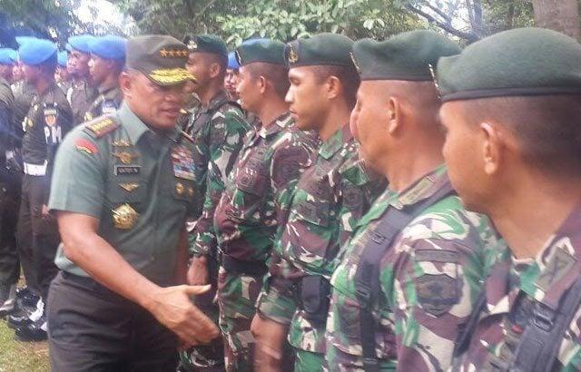 Panglima TNI: Prajurit TNI dan Polri Selalu Melindungi Rakyat