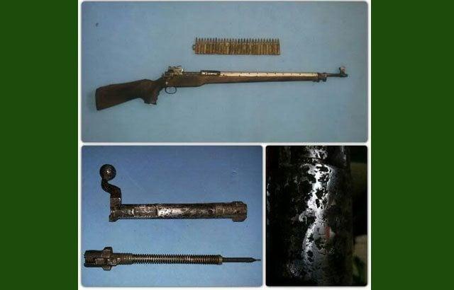 Keramahan Prajurit TNI membuahkan Hasil berupa 1 Pucuk Senjata Api dan 30 Butir Munisi