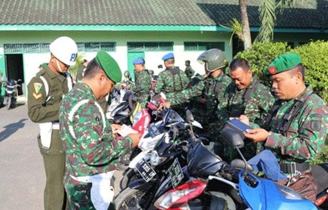 Pekan Disiplin, Denpom Samarinda Gelar Operasi Penegakan Ketertiban