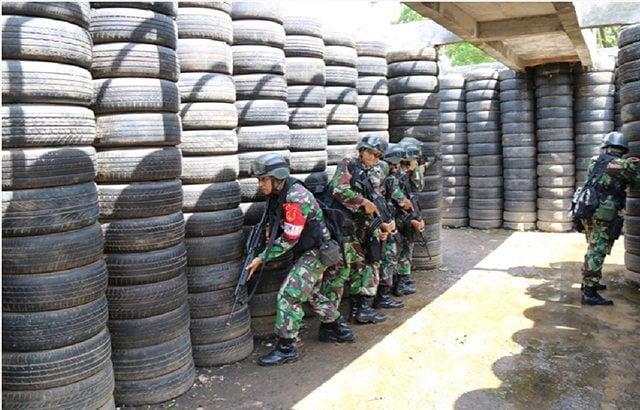 Yonif Raider 515/Kostrad Gelar Latihan Pemantapan