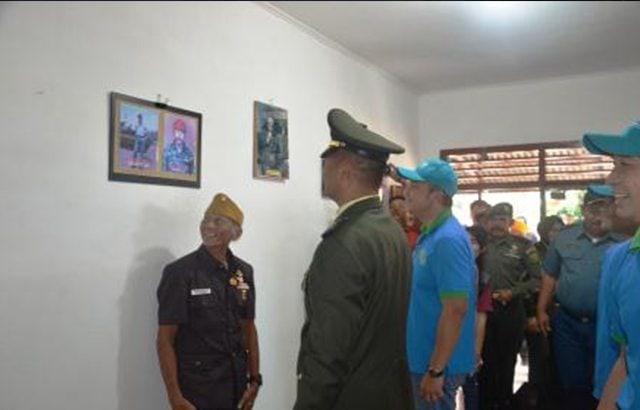 Korem Garuda Hitam Bedah 25 Rumah Milik Veteran