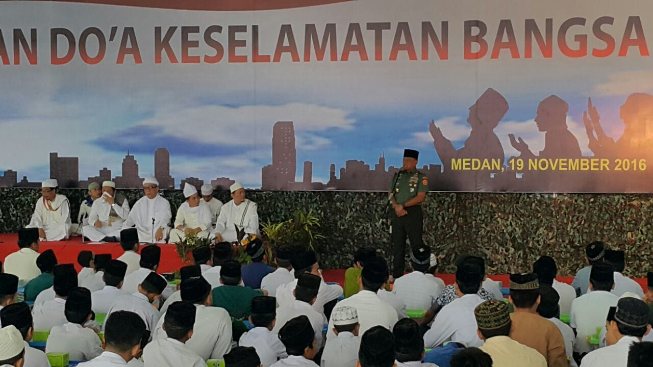 Panglima TNI :Indonesia LahirAtas Perjuangan Pahlawan Bangsa