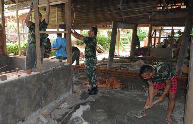 Kodam Iskandar Muda Rehap 47 Rumah Veteran Tidak Layak Huni