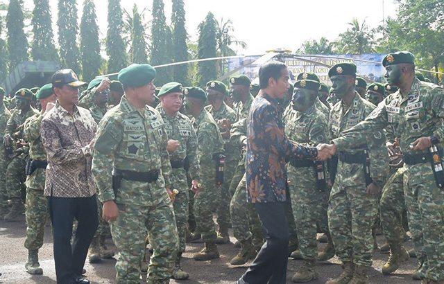 Kesiapan TNI Memberikan Rasa Aman Bagi Rakyat Indonesia