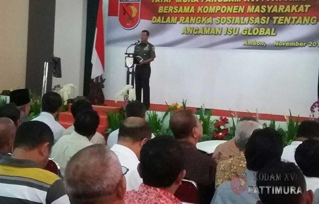 Mari Kita Jaga Ketenteraman dan Kerukunan di Maluku