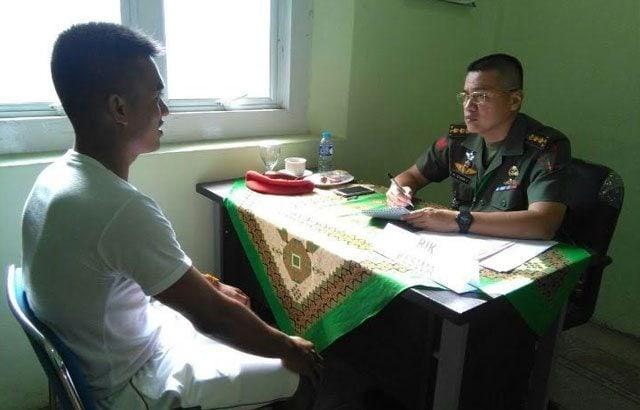 20 Calon Tamtama Prajurit TNI AD Diperiksa Kesehatan Tahap II