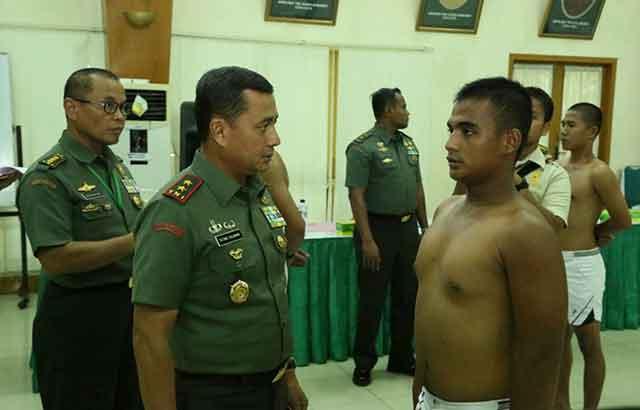 20 Calon Tamtama PK TNI-AD Pulau Terluar Simeulue Lulus Pantukhir