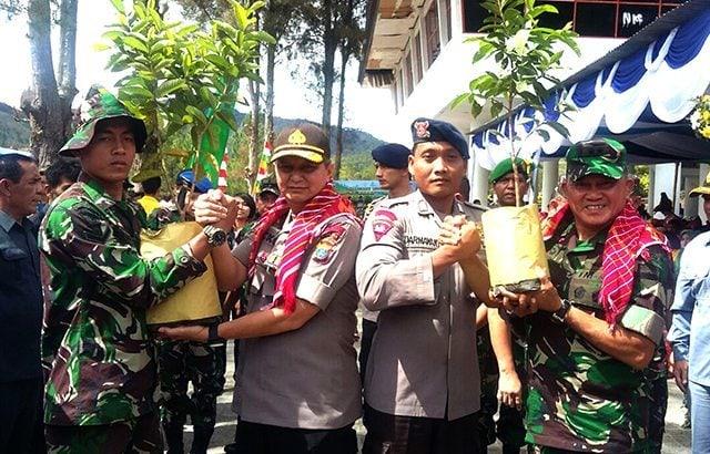 Pangdam I/BB Buka Acara Toba Go Green Tahun 2016
