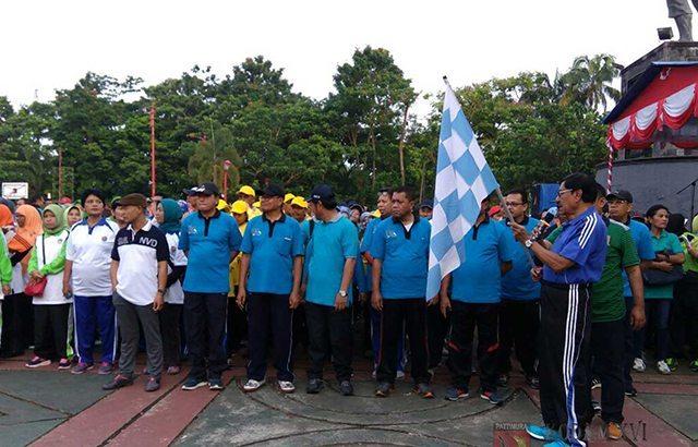 Sambut HUT-nya ke 45, Korpri Maluku Adakan Jalan Santai