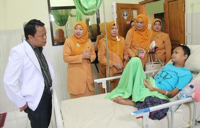 Tali Asih bagi Pasien Kanker dan Onkologi Rumah Sakit TK III Baladhika Husada