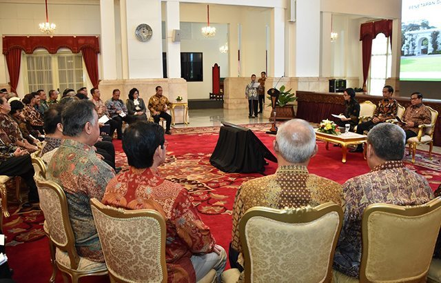 Panglima TNI Hadiri Pembukaan Rakor Penetapan dan Penyerahan Apresiasi BLU
