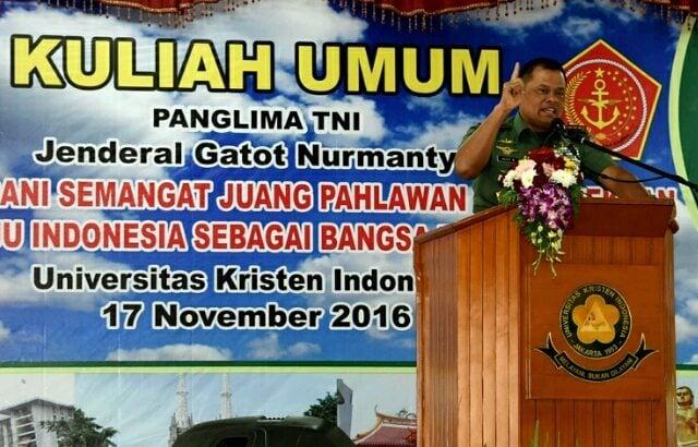 Panglima TNI: Waspadai Sumber Daya Alam Indonesia Dikuasai Bangsa lain