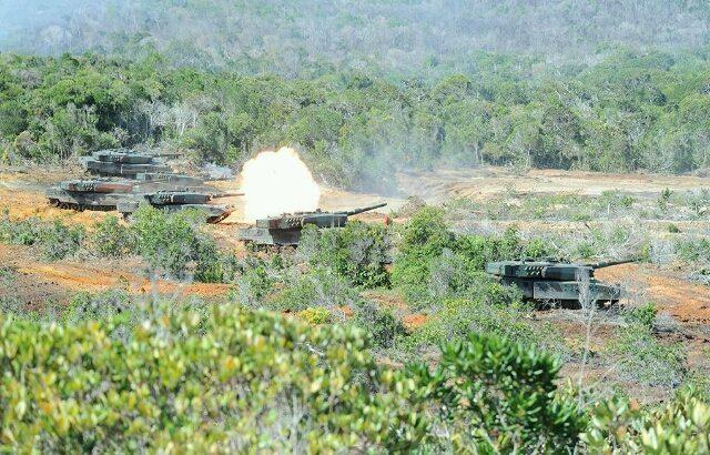 Latihan Taktis Antar Kecabangan TNI AD TA 2016