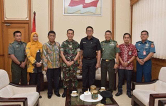 Pangdam VI/Mulawarman Terima Kunjungan Tim BKP RI