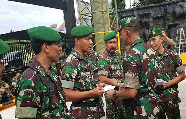 """TNI Bekerja Dan Mengabdi Demi Bangsa Dan Negara"""