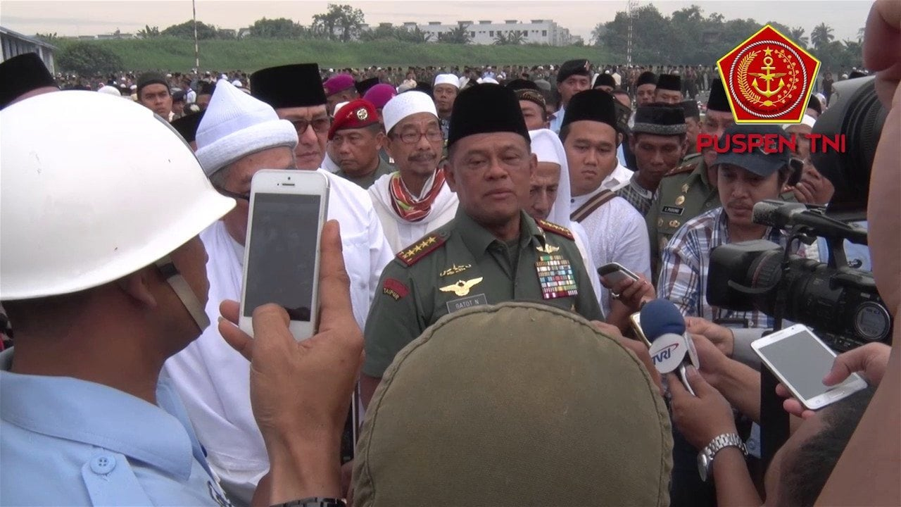 Panglima TNI Ajak Seluruh Anak Bangsa Wujudkan Stabilitas Keamanan