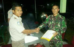 TNI AD Gagalkan Penyulundupan di Perbatasan RI-Malaysia