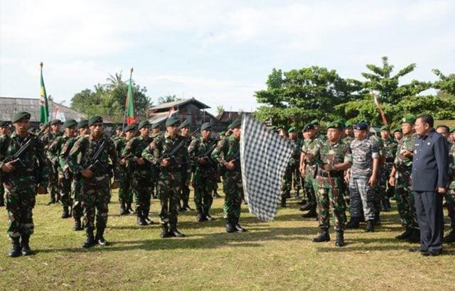 Peleton Beranting Yudha Wastu Pramuka Tingkatkan Nilai Kejuangan Prajurit Infanteri