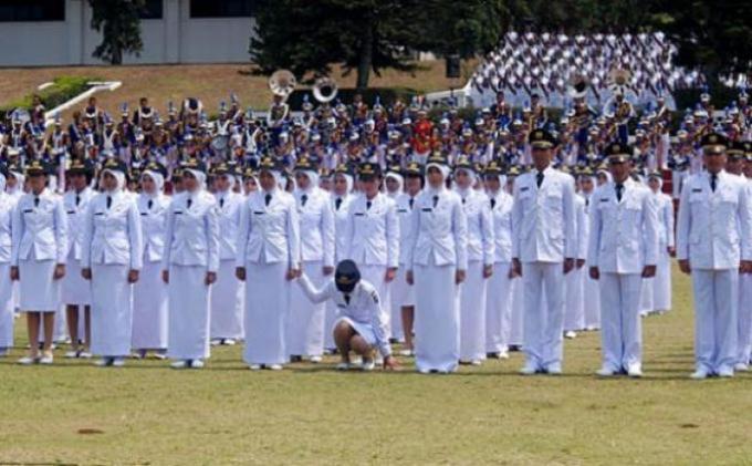 Panglima TNI Beri Ide Lulusan IPDN Ikuti Pelatihan Militer dan Dapat Pangkat