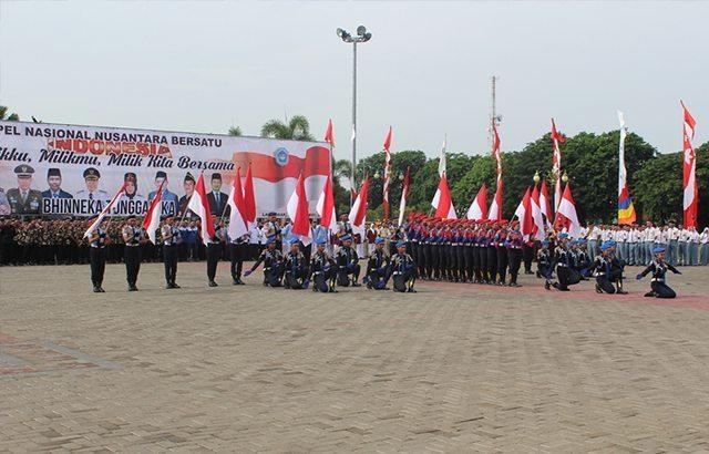 1700 Orang Hadiri Apel Nusantara Bersatu Di Alon-Alon Lamongan