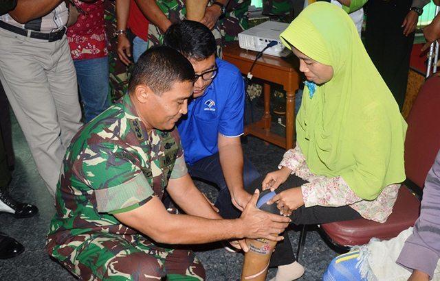 Wujudkan Kebersamaan Melalui Operasi Katarak Dan Bantuan Kaki Palsu