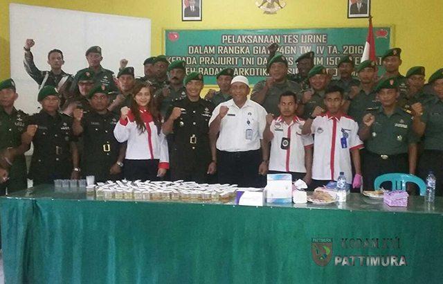 Prajurit TNI, Pelopor Memberantas Narkoba di Ternate