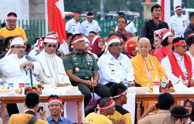 Jutaan Rakyat Indonesia Ikuti Aksi Nusantara Bersatu