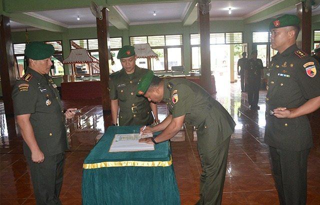 Jabatan Komandan Kodim (Dandim) 0804/Magetan Diserahterimakan