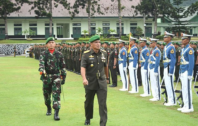 Wagub Akmil Pimpin Upacara Hari Juang Kartika ke-71 di Akmil Magelang