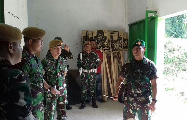Pangdam IM Sidak Yon Armed 17/RC