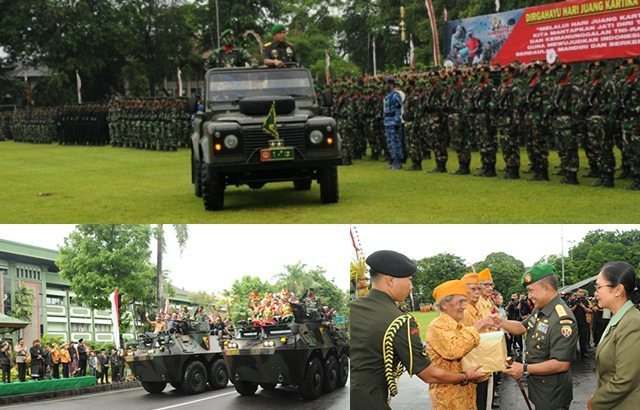 Peringatan Hari Juang Kartika Bentuk Pertanggungjawaban TNI AD Kepada Rakyat