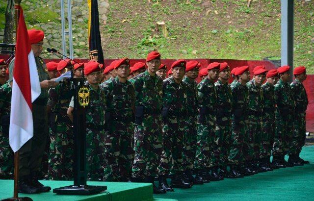 Lomba Peleton Tangkas Antar Batalyon Kopassus
