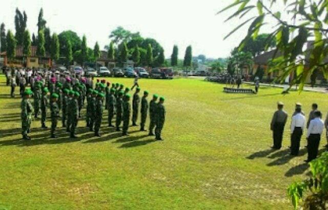 Personel TNI/POLRI Siap Amankan 48 Gereja di Lampung Utara