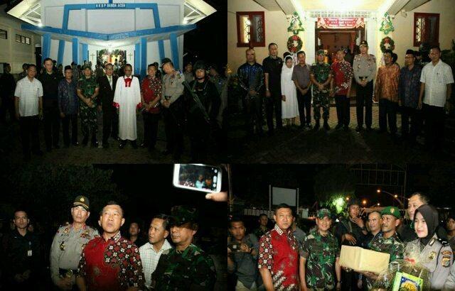 Ribuan Personel TNI-POLRI Siap Amankan Perayaan Natal di Aceh