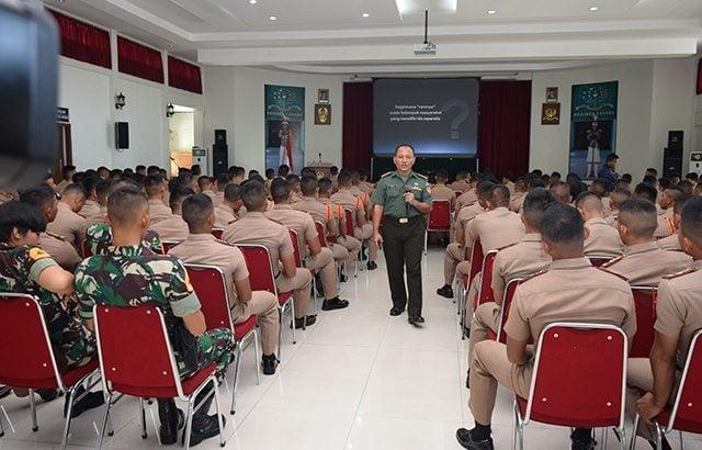 226 Taruna Akademi TNI Berintergrasi Untuk Satukan Visi dan Misi