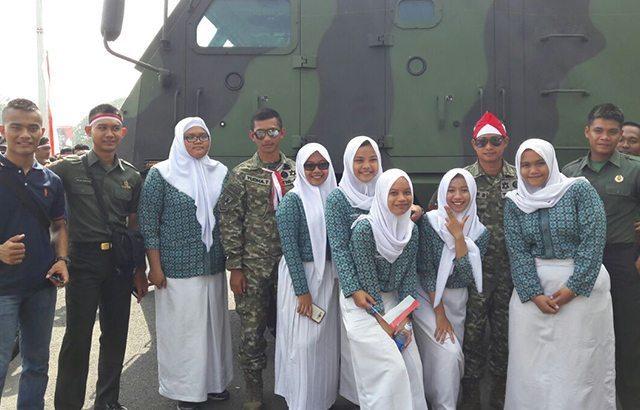 Yonarmed 1 Kostrad Meriahkan Pameran Alutsista Pada Apel Nusantara Bersatu