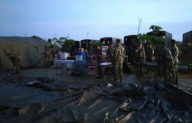 Peduli Bencana Gempa Aceh, Kostrad Kirim Kompi Kesehatan