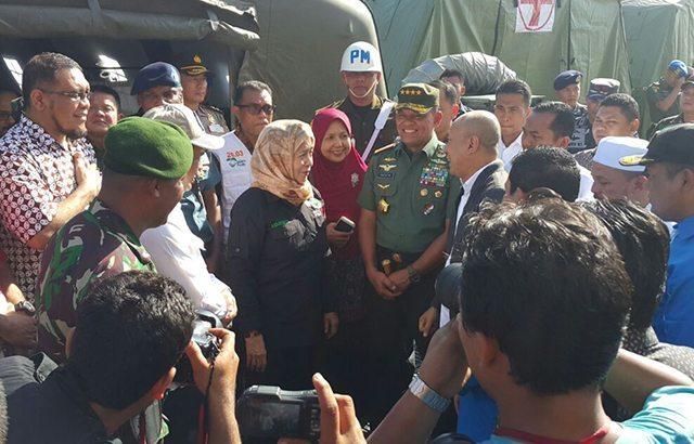 Panglima TNI Tinjau Lokasi Gempa di Provinsi Aceh