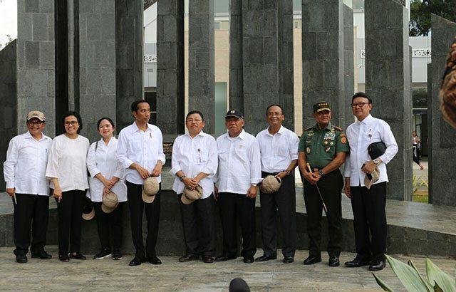 Panglima TNI Hadiri Peresmian PLBN Terpadu Entikong