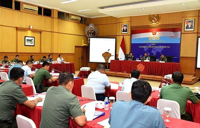 Kasum TNI : Kameramen dan Fotografer TNI Harus Profesional