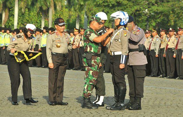 Panglima TNI : Tugas Mulia Prajurit TNI-Polri Berikan Rasa Aman dan Nyaman