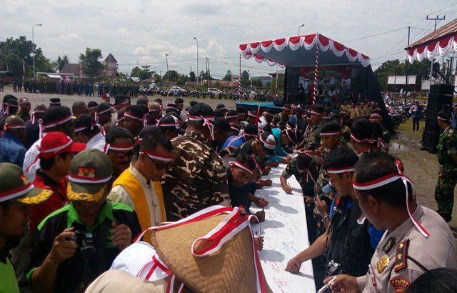 Masyarakat Timika Gelar Kegiatan Nusantara Bersatu Untuk Pererat Persatuan dan Kesatuan Bangsa