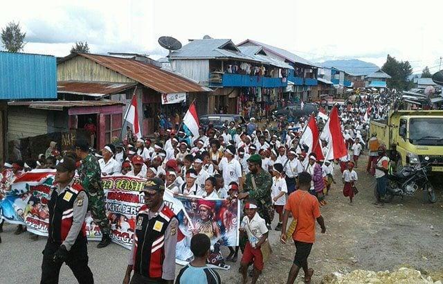 Masyarakat Waghete Papua Ikrarkan Nusantara Bersatu