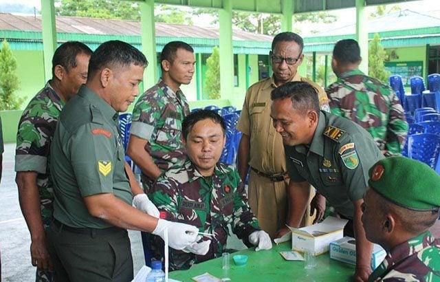 Penyuluhan Narkoba di Kodim 1709/Yawa Papua
