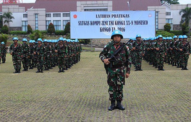 TNI Siapkan Satgas Kizi TNI Konga XX-N/Monusco di Kongo